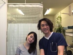 松本様と記念撮影