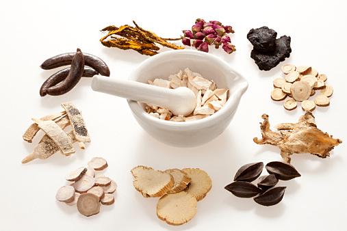 Various Chinese herbal medicine